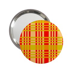 Check Pattern 2.25  Handbag Mirrors