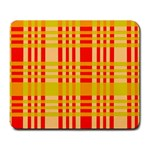 Check Pattern Large Mousepads Front