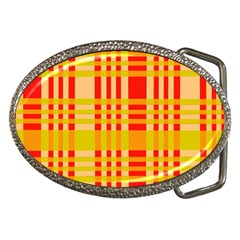 Check Pattern Belt Buckles