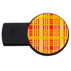 Check Pattern USB Flash Drive Round (1 GB)