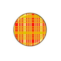 Check Pattern Hat Clip Ball Marker (4 pack)