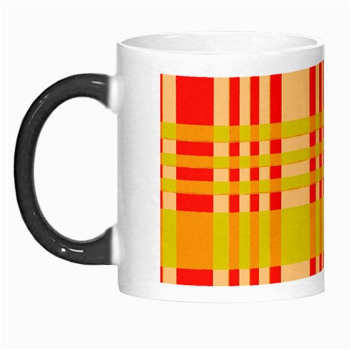 Check Pattern Morph Mugs