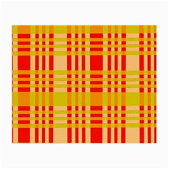 Check Pattern Small Glasses Cloth