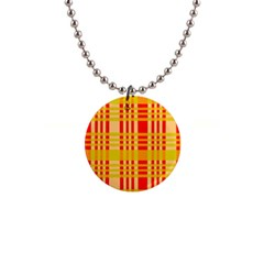 Check Pattern Button Necklaces