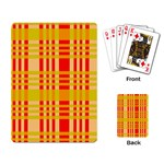 Check Pattern Playing Card Back