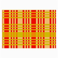 Check Pattern Large Glasses Cloth (2-Side)