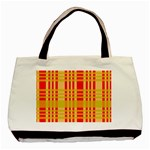 Check Pattern Basic Tote Bag (Two Sides) Front