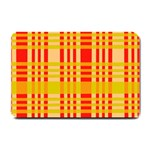 Check Pattern Small Doormat  24 x16 Door Mat - 1