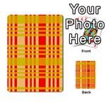 Check Pattern Multi-purpose Cards (Rectangle)  Back 7