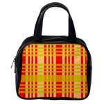 Check Pattern Classic Handbags (One Side) Front
