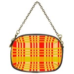 Check Pattern Chain Purses (One Side)  Front