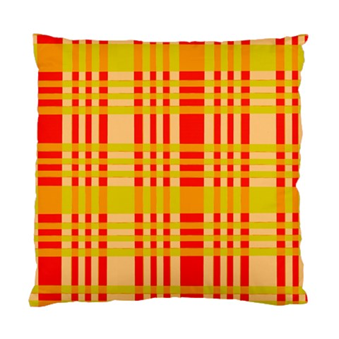 Check Pattern Standard Cushion Case (One Side)