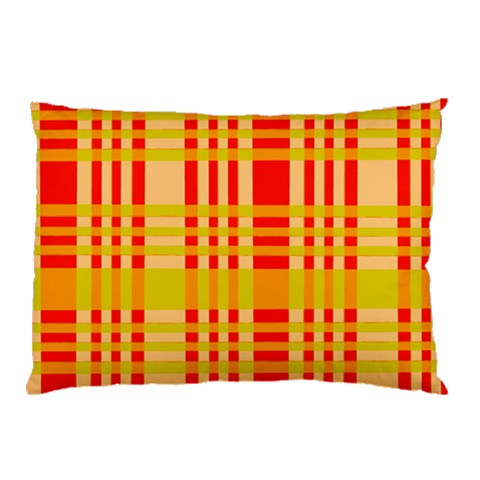 Check Pattern Pillow Case