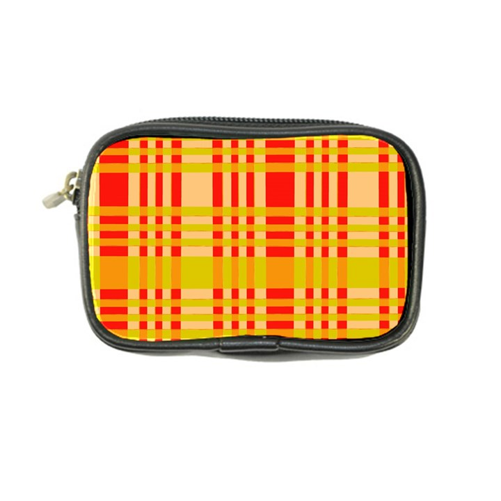 Check Pattern Coin Purse