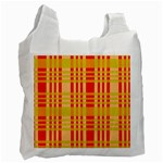 Check Pattern Recycle Bag (One Side) Front