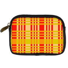 Check Pattern Digital Camera Cases