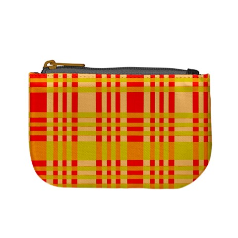 Check Pattern Mini Coin Purses