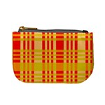 Check Pattern Mini Coin Purses Front