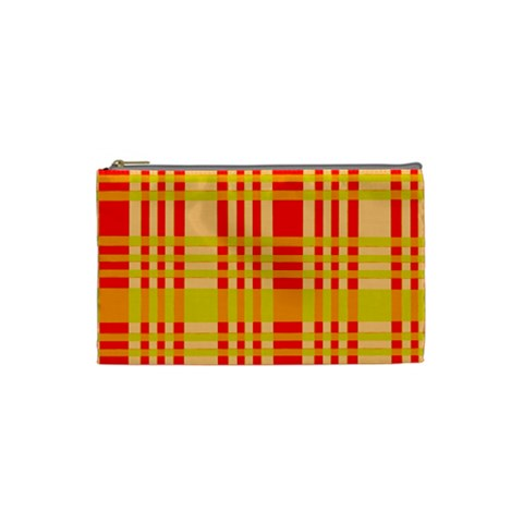 Check Pattern Cosmetic Bag (Small)