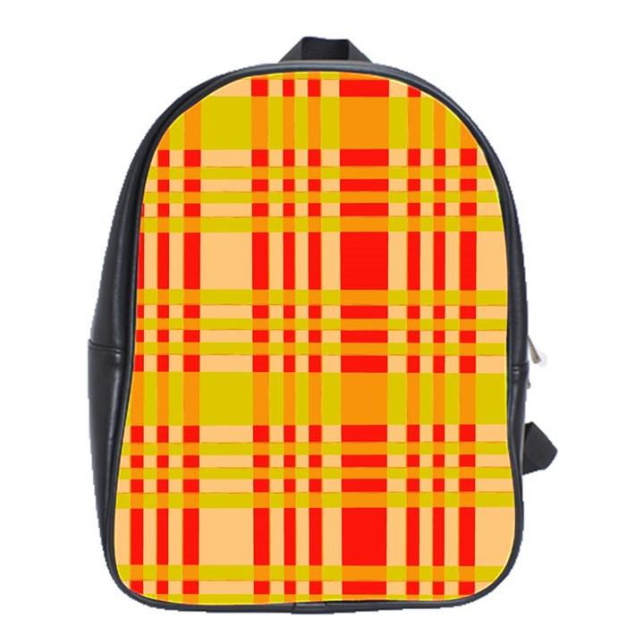 Check Pattern School Bags(Large)