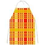 Check Pattern Full Print Aprons Front