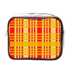 Check Pattern Mini Toiletries Bags
