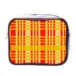 Check Pattern Mini Toiletries Bags Front