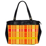 Check Pattern Office Handbags (2 Sides)  Front