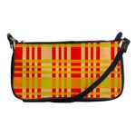 Check Pattern Shoulder Clutch Bags Front