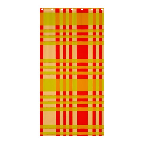 Check Pattern Shower Curtain 36  x 72  (Stall)