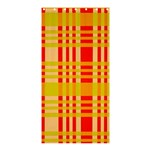Check Pattern Shower Curtain 36  x 72  (Stall)  33.26 x66.24 Curtain