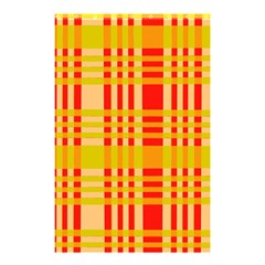 Check Pattern Shower Curtain 48  x 72  (Small)