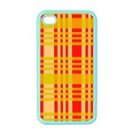 Check Pattern Apple iPhone 4 Case (Color) Front
