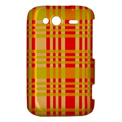 Check Pattern HTC Wildfire S A510e Hardshell Case
