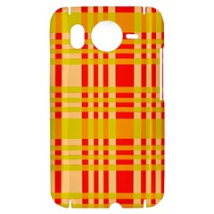 Check Pattern HTC Desire HD Hardshell Case