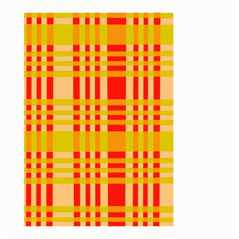 Check Pattern Large Garden Flag (Two Sides)