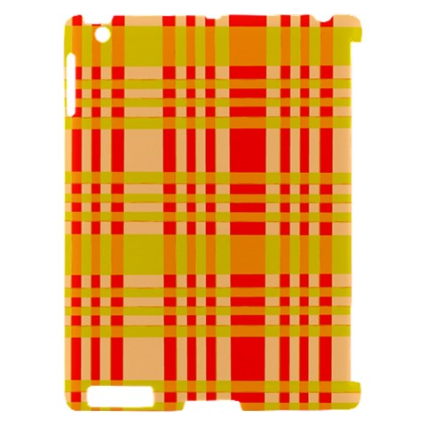 Check Pattern Apple iPad 2 Hardshell Case (Compatible with Smart Cover)