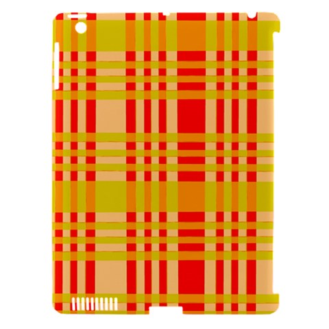 Check Pattern Apple iPad 3/4 Hardshell Case (Compatible with Smart Cover)