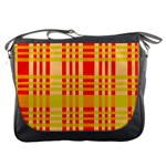 Check Pattern Messenger Bags Front