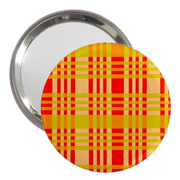 Check Pattern 3  Handbag Mirrors