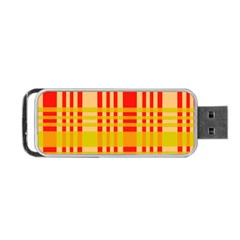 Check Pattern Portable USB Flash (One Side)