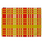 Check Pattern Cosmetic Bag (XXL)  Front