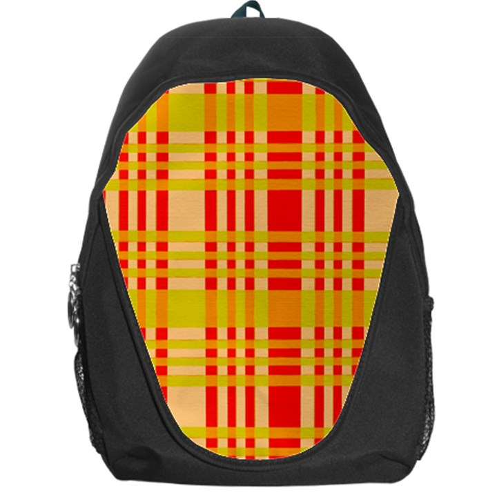Check Pattern Backpack Bag