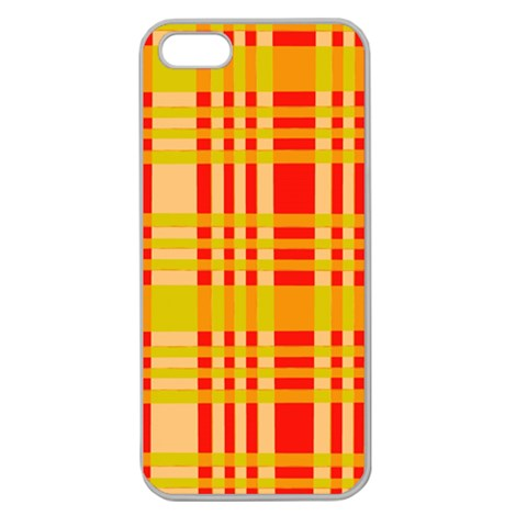 Check Pattern Apple Seamless iPhone 5 Case (Clear)