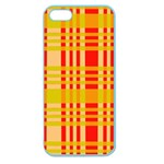 Check Pattern Apple Seamless iPhone 5 Case (Color) Front
