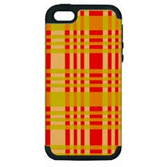 Check Pattern Apple iPhone 5 Hardshell Case (PC+Silicone)