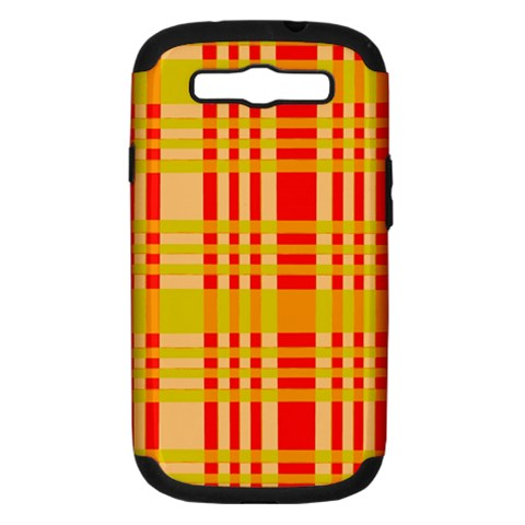 Check Pattern Samsung Galaxy S III Hardshell Case (PC+Silicone)