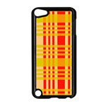 Check Pattern Apple iPod Touch 5 Case (Black) Front