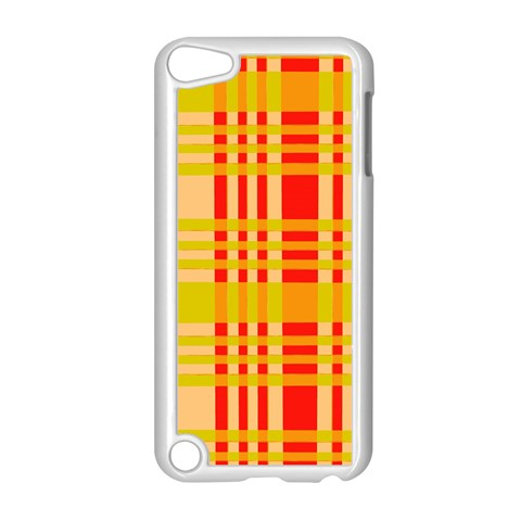 Check Pattern Apple iPod Touch 5 Case (White)