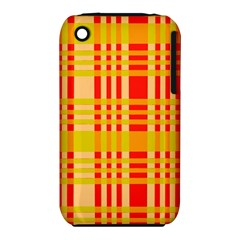 Check Pattern Apple iPhone 3G/3GS Hardshell Case (PC+Silicone)